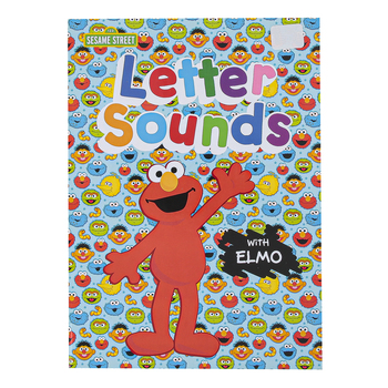 Sesame Street, Letter Sounds with Elmo Preschool Workbook, Paperback, 32 Pages, Ages 3-5