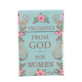 Christian Art Gifts, Promises from God for Women Box of Blessings, 3 3/4 x 2 3/4 inches, 51 Cards