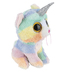Ty Beanie Boos, Heather the Cat Stuffed Animal, Rainbow, 6 inches