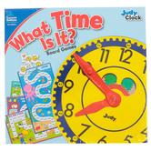 Carson-Dellosa, What Time Is It Board Game Set, 116 Pieces, Grades K-2