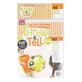 Group, Throw and Tell Life Application Inflatable Ball, 24 Inches, Ages 3 Years and Up, 1 Each