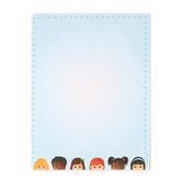 Renewing Minds, Multicultural Kids Letterhead, 8.5 x 11 Inches, 50 Sheets
