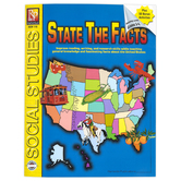 Remedia Publications, State the Facts Workbook, Reproducible Paperback, 62 Pages, Grades 4-8