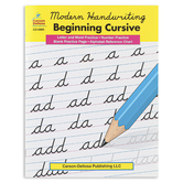 Modern Handwriting Beginning Cursive Resource Book, Reproducible, 33 Pages, Grades 2-5