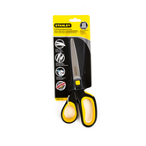 Stanley Bostitch, Scissors, 8 Inches, Yellow, 1 Pair