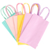 the Paper Studio, Small Pastel Craft Bags, Assorted Colors, 8 1/2 x 5 1/4 Inches