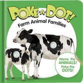 Farm Animal Families, Poke-a-Dot Book, by Melissa & Doug, Board Book