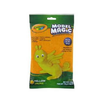 Crayola, Model Magic Modeling Compound, Yellow, 4 ounces