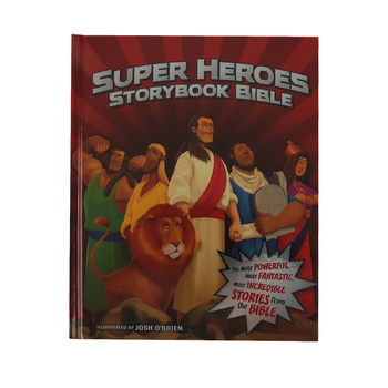 Super Heroes Storybook Bible, by Jean E. Syswerda and Josh O'Brien, Hardcover