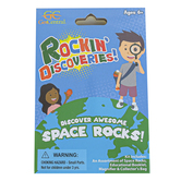 GeoCentral, Rockin' Discoveries Space Rocks, Ages 6 Years and Older, 8 Pieces