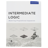 Canon Press, Intermediate Logic Student Text, 3rd Edition, James B. Nance, Paperback, Grades 9-12
