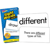 Trend, Sight Words Level 3 Flash Cards