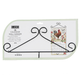 The Lang Companies, Scroll Calendar Hanger, Wrought Iron, Black, 14 x 6 inches