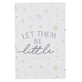 P. Graham Dunn, Let Them Be Little Keepsake Card, Wood, 8 x 6 inches