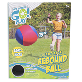 Toysmith, Get Outside Go Play, Giant Kick Rebound Ball, 15 inches, Ages 5 & Older