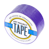 Purple Art Project Tape, 1 7/8 inches x 20 yards, 1 Roll
