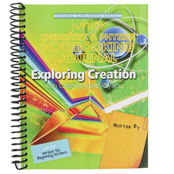 Apologia, Exploring Creation with Chemistry and Physics Junior Notebooking Journal, Spiral, Grades K-3