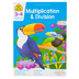 School Zone, Multiplication and Division Deluxe Edition Workbook, Paperback, 64 Pages, Grades 3-4