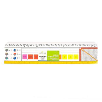 Renewing Minds, Modern Cursive Large Nameplates, 18 x 4 Inches, Set of 36, Grades 3-5