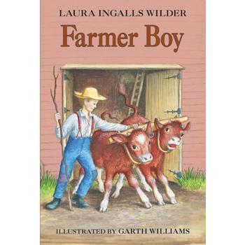 Farmer Boy, by Laura Ingalls Wilder, Paperback, Grades 3-7
