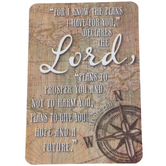 Dickson's Gifts, Jeremiah 29:11 Pocket Card, Tan