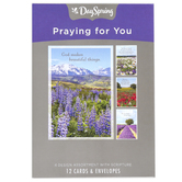 DaySpring, Landscapes Praying For You Boxed Cards, 12 Cards with Envelopes