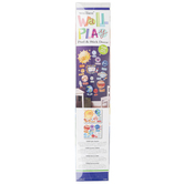 Wallies, Wall Play Solar System Peel and Stick Decor Decals, 1.75 x 2 to 14.50 Inches, 45 Pieces