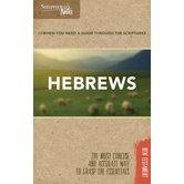 Hebrews, Shepherd's Notes Series, by Dana Gould, Paperback