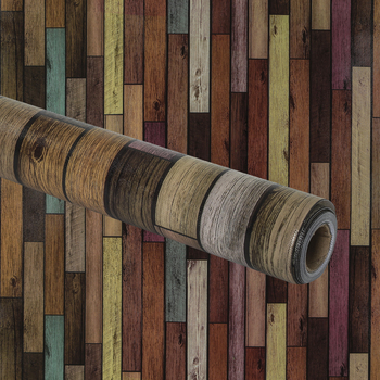 Teacher Created Resources, Better Than Paper Bulletin Board Roll, Reclaimed Wood, 4 x 12-Foot Roll