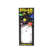 Plasteel Corp, Paintable Smoothfoam Solar System Kit, White, 22 Pieces, Ages 8 and up