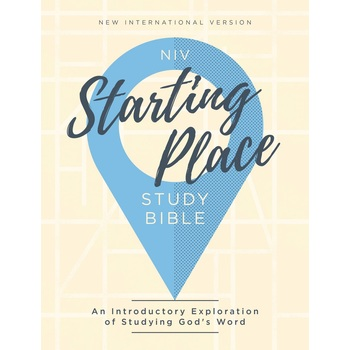 NIV Starting Place Study Bible, Hardcover