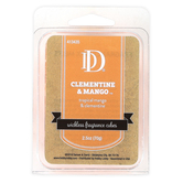 D&D, Clementine and Mango Scented Wax Melts, 6 Cubes, 2 1/2 ounces