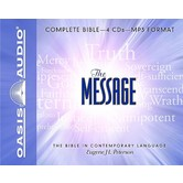 MSG The Message Audio Bible, 4 MP3 CDs