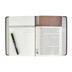 NKJV Jeremiah Study Bible, Imitation Leather, Charcoal and Burgundy