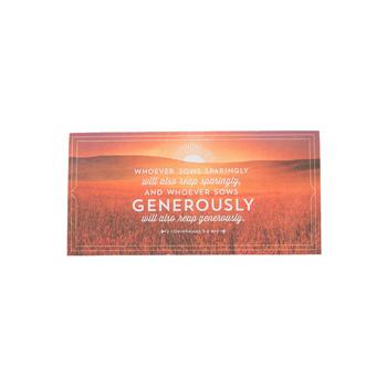 Salt & Light, Whoever Sows Envelopes, 6 1/4 x 3 1/8 inches, 100 Envelopes