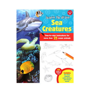 Walter Foster, Learn to Draw Sea Creatures