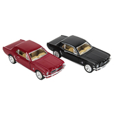 Master Toys and Novelties, Inc., 1964 Ford Mustang Toy Car, Red or Blue, 5 inches