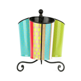 TooCute Collection, Spinning Caddy,  Multi-Colored, 6 x 8.5 Inches