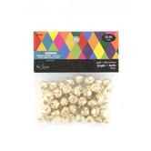 Jingle Bells, 12 millimeters, Gold, Set of 60