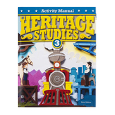 BJU Press, Heritage Studies 3 Student Activities Manual, 3rd Edition, Grade 3