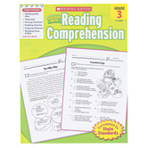 Scholastic, Success with Reading Comprehension Activity Book, 48 Pages, Reproducible Paperback, Grade 3