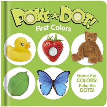 First Colors, Poke-a-Dot Book, by Melissa & Doug, Board Book