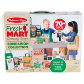 Melissa & Doug, Fresh Mart Grocery Store Companion Collection, 70 Pieces