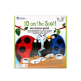 Learning Resources, Ten on the Spot Game, Ages 5 Years and Older, 2 to 6 Players