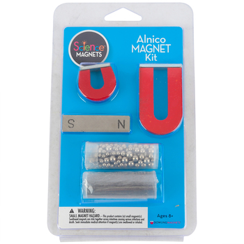 Dowling Magnets, Alnico Magnet Kit, 5 Pieces, Ages 8 and up