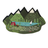 Natural Life, How Cool Is It Shaped Sticker, Vinyl, 4 inches