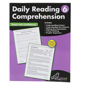 Creative Teaching Press, Daily Reading Comprehension, Reproducible Paperback, 120 Pages, Grade 6