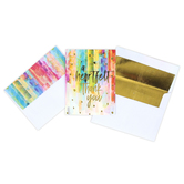 Brother Sister Design Studio, A Heartfelt Thank You Note Cards, 15 Cards with Envelopes