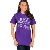 Gardenfire, Psalm 139:14, Just Be You, Women's Short Sleeve T-Shirt, Purple