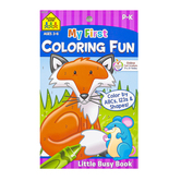 Little Busy Book, My First Coloring Fun Workbook, 48 Pages, 5.37 x 8.50 Inches, Grades PreK-1